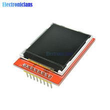 "Replace 5110 LCD 1.44"" Red Serial 128X128 SPI Color TFT LCD Display Module(China)"