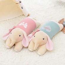 New METOO Series Lucky Elephant Doll Wear Cloth Pattern Skirt Girl Child Plush Stuffed Toy Birthday Christmas Gifts(China)