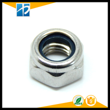 (20 pc/lot) A2 Stainless Steel 304 DIN985 Nylon Insert Lock Nuts/Nylon Tuercas M2,M2.5,M3,M4,M5,M6,M8,M10,M12(China)