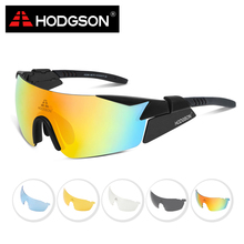 8005 HODGSON Brand New Designed Waterproof Cycling Glasses Sports Eyewear Bicycle Goggles Bike Sunglasses with 2 Polarized Lens(China)