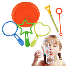 Buy 6Pcs Blowing Bubble Wand Tool Soap Bubble Concentrate Stick Bubble Maker Set Kids Children Fun Toys Outdoor Toy Gifts for $1.66 in AliExpress store