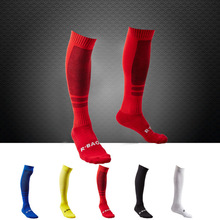 Professional Cotton Men Sport Soccer Socks Football Socks Outdoor Running Basketball Socks Stockings(China)