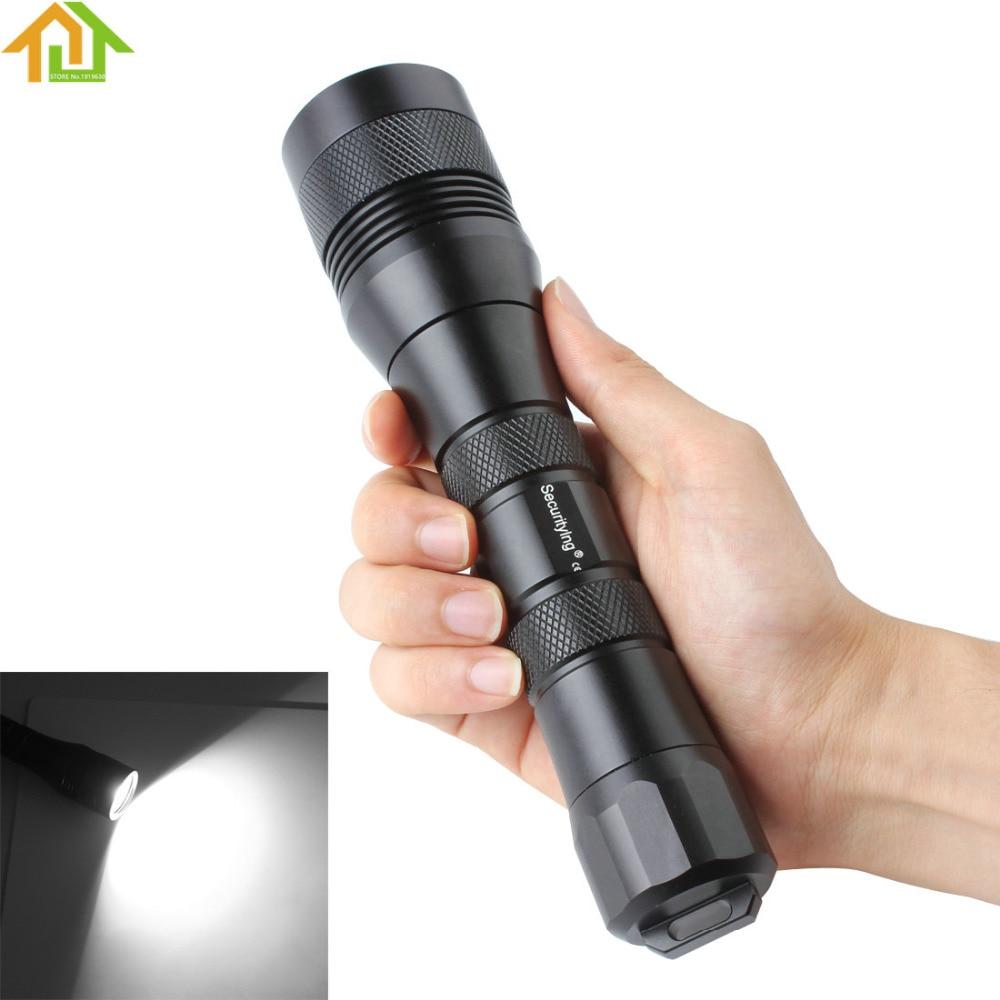 SecurityIng Scuba  Photography Flashlight Torch 120 Degrees Wide Beam Waterproof XM-L2 U4 LED Flash Light<br><br>Aliexpress
