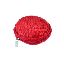 6 Colors 1pc  Zipper Protective Headphone case Pouch Earphone Storage bag Soft Headset Earbuds box Usb cable organizer