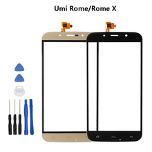 Umi Rome/Rome X Touch Screen Lens Sensor Original Touch Panel Replacement Mobile Accessories +Tools For Umi Rome/Rome X