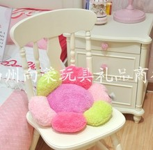 Candy flowers cushion pillow Large sunflowers plush toys Lowest retail 40 cm(China)