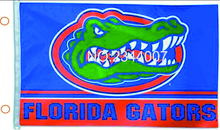 Ncaa Florida State University Gator Flag 3 X 5 FT 150 X 90 CM bandera 100D poliester bandera 106, free shipping(China)