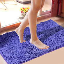 Plush Shaggy Soft Round Carpet Non-Slip Water absorption Floor Rug Yoga Mat For Bedroom Parlor Living Room Home Supplies