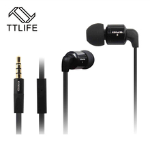 3.5mm Metal Super Bass Stereo Headphone Earphone Headset with Music Audifonos For Mobile Phone Mp3 Palyer