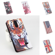 100% High Quality Leather Case Painted For Leagoo M5 5.0'' Case Flip Covers For Leagoo M5 Cellphone Wallet Cover Phone Cases