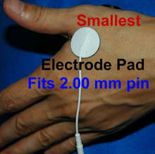 200pcs -Round TENS machine Replacement Electrode Pads Self-Adhesive 4cm Reusable Small by DHL- freeshipping(China)