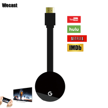 WECAST E68 TV Stick Support Chromecast For Netflix Youtube Mirroring By Google Home Miracast Airplay Dlna(China)