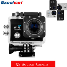 2017 New Action Camera Q5 12MP 170 HD Lens Suport WIFI 32GB Max With 2 inch HD LCD Display HDMI DV Sport Camera