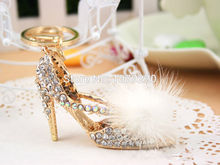 Buy High-heeled shoes Keychain Car Keyring Rhinestone Crystal Charm Pendant Key Bag Chain Gift New Fashion Free for $2.44 in AliExpress store