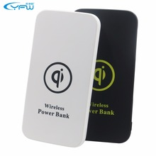 YFW 6000mAh Qi Wireless Charger Power Bank Fast Rechargeable Battery Portable PowerBank USB Charging Pad Cell Phones - Electronic Technology Co., Ltd store