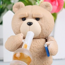 Movie Revo Series NO.006 TED 2 Teddy Bear PVC Action Figure Collection Model Toys for gift