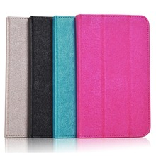 Fashion Silk Pattern PU Leather Folding Folio Case  for HP Stream 7 for 7'' Tablet PC Cover Case