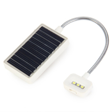 New Solar Powered Multi-Use 0.18W Adjustable Led Table Light For Music Stand And Book Reading Light Mini Solar Led Book Light