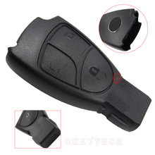 Replacements 3 Buttons Car Key Shell Fob Cover For Mercedes Benz B C E ML S CLK CL Class Free Shipping High Quality No Blade