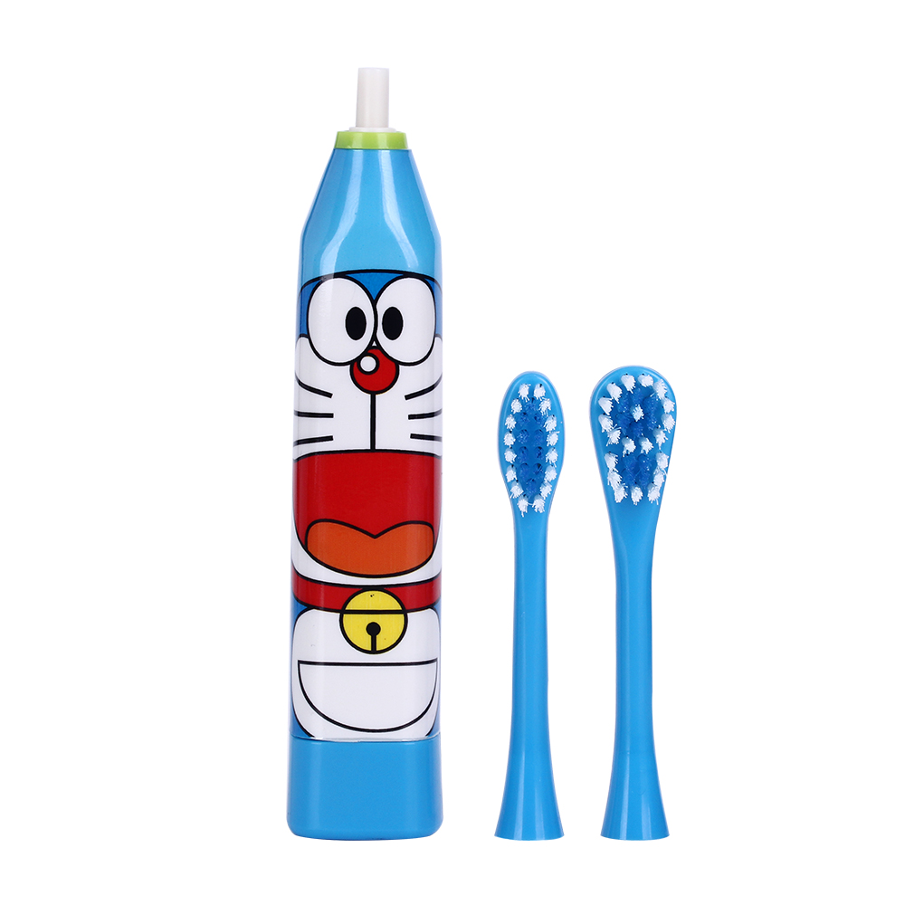 Hot Cartoon Pattern Children Electric Toothbrush Double-sided Tooth Brush Heads Electric Teeth Brush with 2 pcs Heads For Kids 13