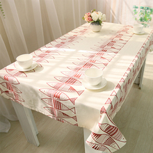 Tablecloths White Table Cloth Cotton Covers Simple Fish Pattern Oval Large  Tablecloth Cloth Outdoor Indoor Fabric Modern