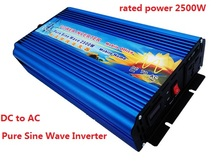 surge power 5000W 2500W pure sine wave inverter 12VDC 220VAC Power Inverter,Solar Inverter