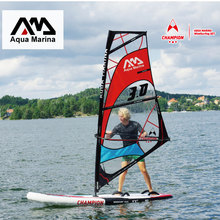 AQUA MARINA 300x75x15cm Windsurf Surfing Stand Up Paddle Board Inflatable Sup Board With Whole Set Windsurfing(China)