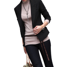 2017 Hot Sale Women Outwear Office Uniform Black Slim Elegant Women's Business Suit Korean Style Pantsuits Work Wear Plus Size