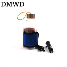 DMWD 12V DC Baby Milk bottle Heater sterilizer Tea Coffee Warmer Thermal Insulation car seat Travel drinks Thermostat boiler cup(China)