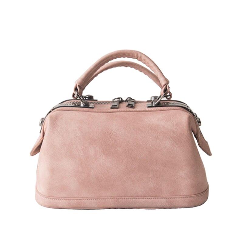 2017 New Women Leather Handbag Famous Brand Design Boston Messenger Bag  Fashion Vintage Ladies Small Shoulder Bags bolsa XA120H<br><br>Aliexpress