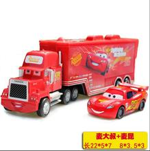 Pixar Cars2 # 95 # 43 # 86 Mack Truck Heavy Duty Truck die-cast colorful children's toys small Christmas gifts Lightning McQueen(China)