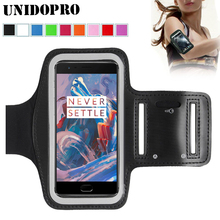 for Oneplus5T Waterproof Sport Arm Band Leather Case for OnePlus 5T A5010 5 A5000 3T A3000 3 2 1 One Plus X Runing Arm Bag(China)