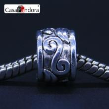 CasaPandora European Fashion 925 Plated Clouds Pattern Fit Bracelet Charm DIY Jewelry Making