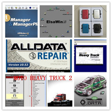alldata 10.53 +mitchell auto repair software + mitchell heavy truck+elsawin hdd 1tb full set for cars and trucks best price