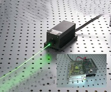 800mw 532nm green laser system with laser power supply(China)