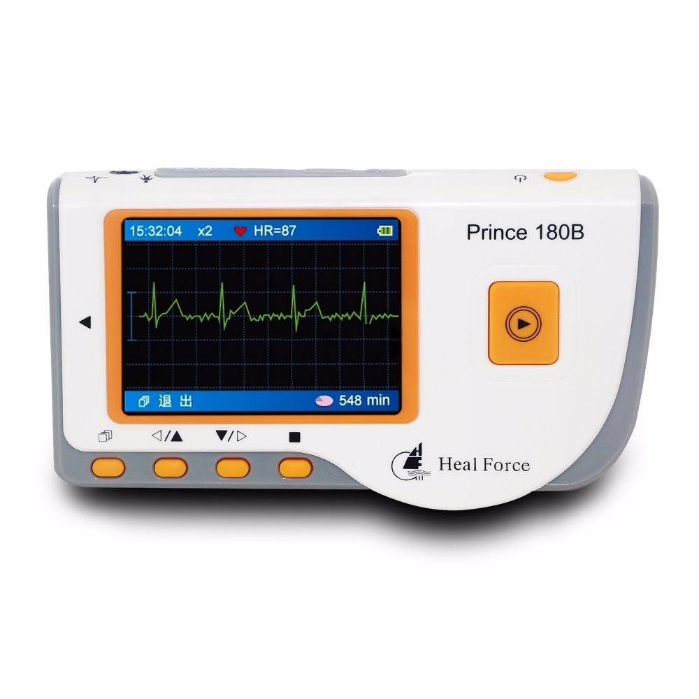 Portable ECG EKG Heart Monitor Software Electrocardiogram CE Health Monitor Detect Personal Care Healthy<br><br>Aliexpress