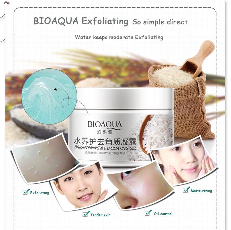 sdfsdf BIOAQUA Brand Skin Care 140g Facial Exfoliating Moisturizing Cream Shrink Pore Brightening Skin Oil-control Hydrating Cream09