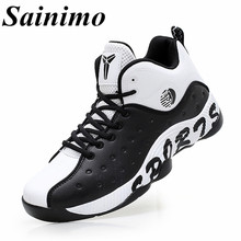 Sainimo Lover's Basketball Shoes Sneakers Sport Shoes for Men athletic shoe Women Basketball Ankle Boots chaussure homme baskets