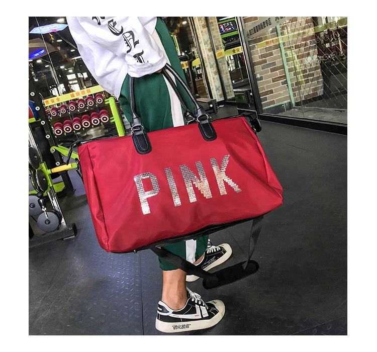 Rainbow Unicorn Style Travel Duffel Bag Waterproof Fashion Lightweight Large Capacity Portable Luggage Bag