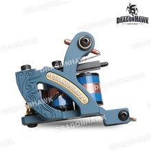 Professional Coloring Tattoo Machine 10 Wraps Coils Shader Quality Tattoo Supply Tattoo Gun