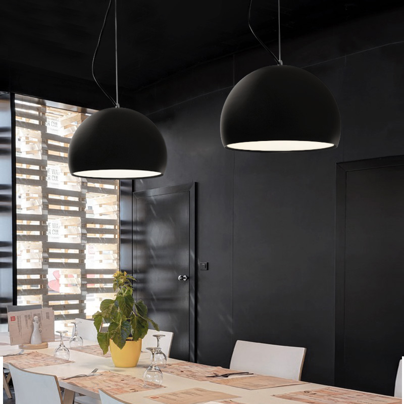 Corridor hall modern simple personality originality single head small chandelier dining room bedroom bar lamp free<br>