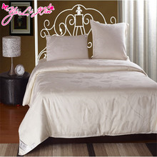 "2016 ""Silk Place""""YLX"" 100% Natural High-quality Silk Comforter For Summer Russia Fast Delivery White Summer Silk Quilt"