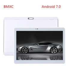 Free Shipping android7.0 Octa Core 3G WCDMA smartphone Tablet PC 4GB RAM 32GB ROM 1280x800 HD Wifi Bluetooth GPS speakers tablet