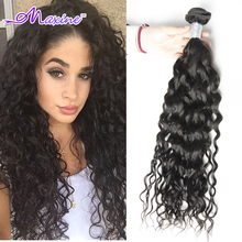 Peruvian Virgin Hair Water Wave Virgin Peruvian Curly Hair Water Wave Peruvian Hair Bundles One Bundles Curly Weave Human Hair