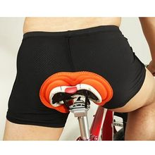 Unisex Black Bicycle Cycling Comfortable Underwear Comfortable Sponge Gel 3D Padded Bike Short Pants Cycling Short New 2017