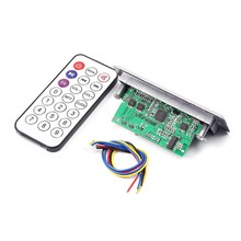 3.7-5V MP3 Decoder Audio Decoding Board Time Display Power Off Memory Support U-Disk TF Card USB FM(China)
