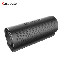 TOP HIFI Bass Bluetooth Metal Speaker 5 Pcs Sound Units 3D Stereo Portable Wireless Computer Car Speaker Subwoofer Mic Handfree(China)