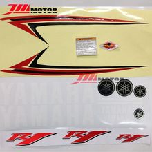 Free Shipping High Quality Motorcycle Decal Stikcer Paintable Graphics Set Transfer Fit For YAMAHA YZF R1 Year 2009(China)