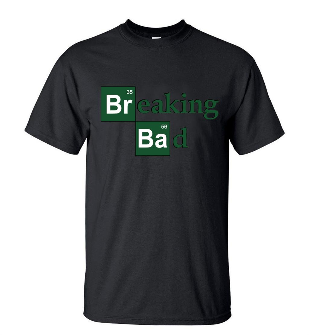 Hot Sale Breaking Bad Heisenberg Men T Shirts 2019 Summer Fashion Casual 100% Cotton  T-Shirt Streetwear Slim Fit Top Tees S-3XL