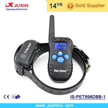 Petrainer 998DBB-1 Remote Dog Training Collar Rechargeable And Vibration Shock Electronic 300M 100Level Dog Electric Collar
